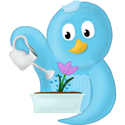 Flower, No, Spring, Text Icon