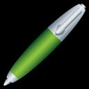 Green, Pen Icon