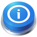 Button, Info, Perspective Icon