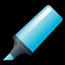 Blue, Highlighter Icon