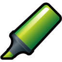 Green, Highlighter Icon
