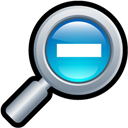Out, Zoom Icon