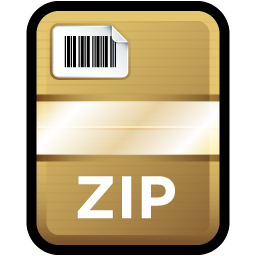 Compressed, File, Zip Icon