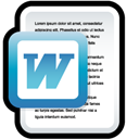 Document, Microsoft, Word Icon