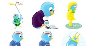 Seasons Tweeting Icons