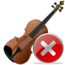 Close, Violin Icon