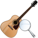 Guitar, Zoom Icon
