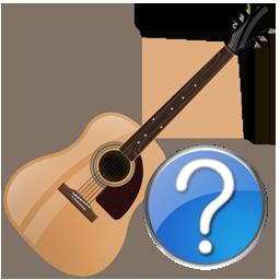 Guitar, Help Icon