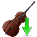 Contrabass, Down Icon
