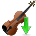 Down, Violin Icon