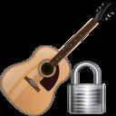 Guitar, Lock Icon