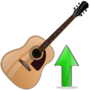 Guitar, Up Icon