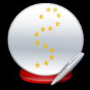 Ball, Crystal, Write Icon