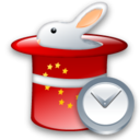 Clock, Rabbit Icon