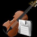 Save, Violin Icon