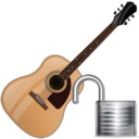 Guitar, Unlock Icon