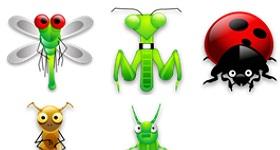 Tiny Bugs Icons