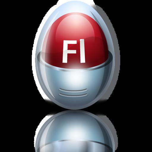 Adobe, Egg, Flash Icon