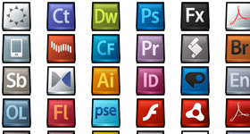 Gloss: Adobe Products Icons