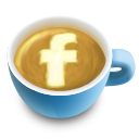Fb, Icon, Latte, Social Icon