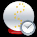 Ball, Clock, Crystal Icon