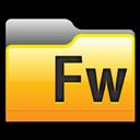 Adobe, Fireworks, Folder Icon
