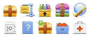 Archive, Icons, Toolbar Icon