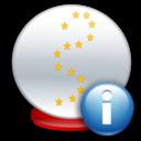 Ball, Crystal, Info Icon