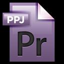 Adobe, File, Premiere Icon