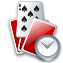 Cards, Clock Icon