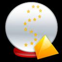Ball, Crystal, Level Icon