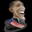 Barak, Obama Icon