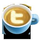 Icon, Latte, Social, Twi Icon