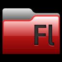 Adobe, Flash, Folder Icon