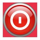 Aqua, Shutdown Icon