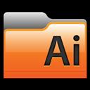 Adobe, Folder, Illustrator Icon