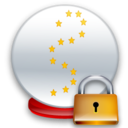 Ball, Crystal, Lock Icon