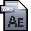 Adobe, After, Effects, File Icon