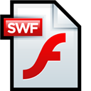 Adobe, File, Flash, Swf Icon