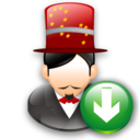 Down, Magician Icon
