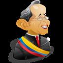 Alvaro, Uribe Icon