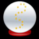 Ball, Crystal Icon