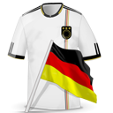 Germany, Shirt, Soccer Icon