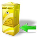 Back, Box, Letter Icon