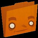 Folder, Orange Icon