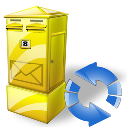 Box, Letter, Refresh Icon