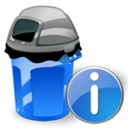 Can, Garbage, Info Icon