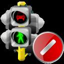 Cancel, Lights, Traffic Icon