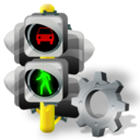 Config, Lights, Traffic Icon