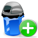 Add, Can, Garbage Icon